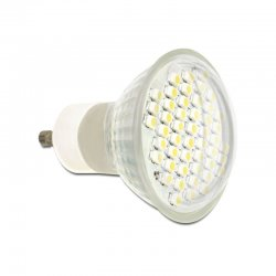 Delock Lighting GU10 LED Leuchtmittel 2,5 W warmweiß 48 x...