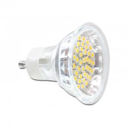 Delock Lighting GU10 LED Leuchtmittel 3,0 W warmweiß 48 x...