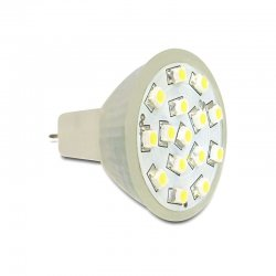 Delock Lighting MR11 LED Leuchtmittel 1,0 W kaltweiß 15 x...