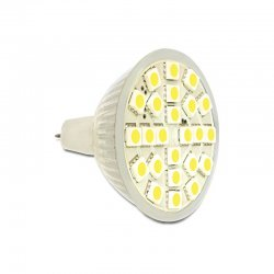 Delock Lighting MR16 LED Leuchtmittel 4,5 W warmweiß 24 x...