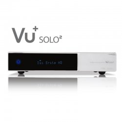 Receiver VU+® Solo2 Twin White Special DVB-S2 - 36 Monate...