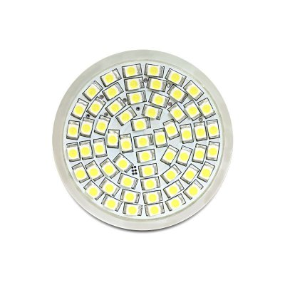 Delock Lighting GU10 LED Leuchtmittel 4,5 W warmweiß 60 x SMD dimmbar