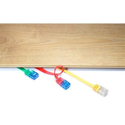 CAT 6a Câble de liaison plat, U/UTP, many colors