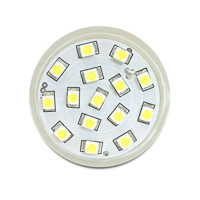 Delock Lighting MR11 LED Leuchtmittel 1,0 W kaltweiß 15 x SMD