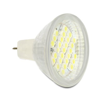 Delock Lighting MR11 LED illuminant 2.0 W cool white 27 x SMD glass cover