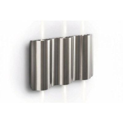 philips ledino led wand aussenleuchte 16809 47 16 stahl geb rstet 219 24 chf. Black Bedroom Furniture Sets. Home Design Ideas