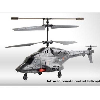 i-Helicopter Airwolf mit Raketenabschuss-Funktion (Missile Launching)