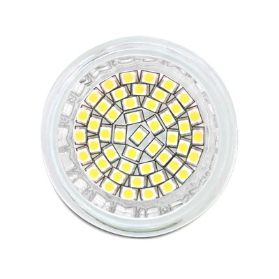 Delock Lighting GU10 LED illuminant 3.0 W cool white 48 x SMD glass cover