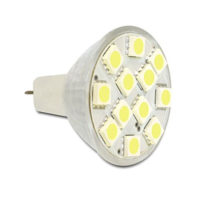 L MR11 2,4W kw 12x SMD LED