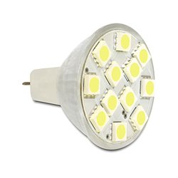 Delock Lighting MR11 LED Leuchtmittel 2,4 W kaltweiß 12 x...