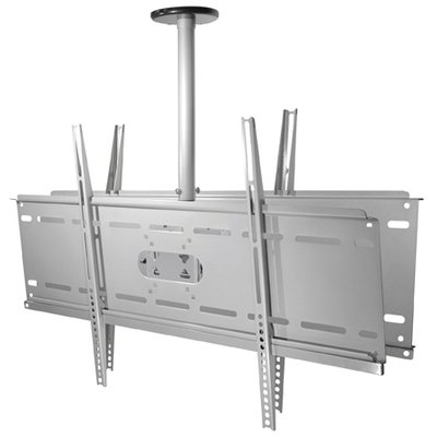 Ceiling Bracket for 2 x Flat Screens, up to 80kg