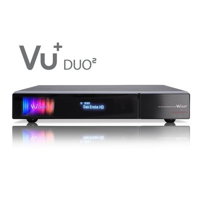 VU+® Duo² Full HD 1080p Twin Linux Receiver 1x DVB-C/T2 Dual Tuner